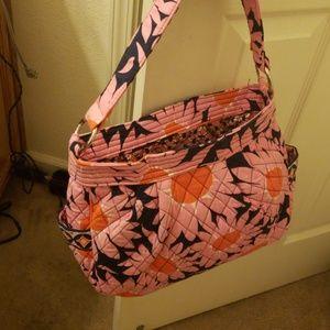 Vera Bradley flowered purse